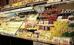 店内にはお肉以外にもたのしい商品がいっぱい